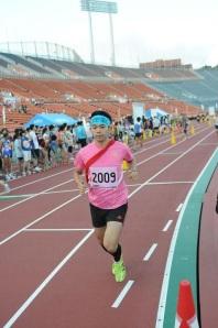 三宅のランシーン (2012夏 フライデーナイトリレーマラソン)