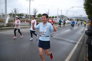朝倉のランシーン (2013.4 長野マラソン)