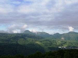 サニー高原志賀部屋からの風景