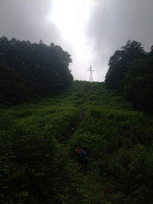 黒姫モントレイルの登り