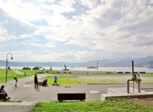 石彫公園からの景色
