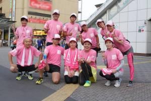 8/18(日)のゴール、長野駅前でラストの一枚。