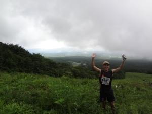 3蔵王トレイル山を登り切った