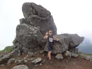 4蔵王トレイルカエル岩