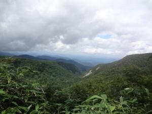 5蔵王トレイル景色
