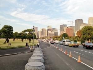 桜田門前コース上。ここからスタートです。