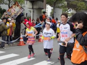 阪神の濱中選手も参加されていました。